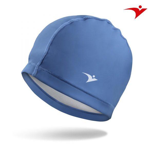 mũ bơi vnasports màu xanh
