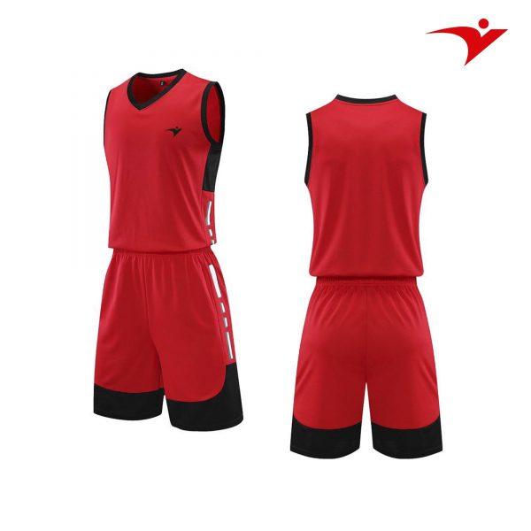 quần áo bóng rổ màu đỏ
