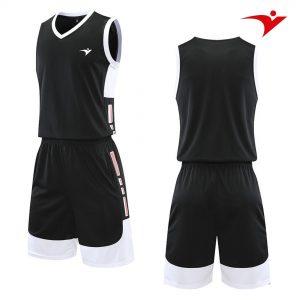 quần áo bóng rổ màu đen